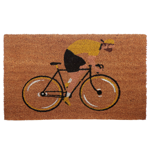 Coir Door Mat - Cycle Works Bicycle MAT59