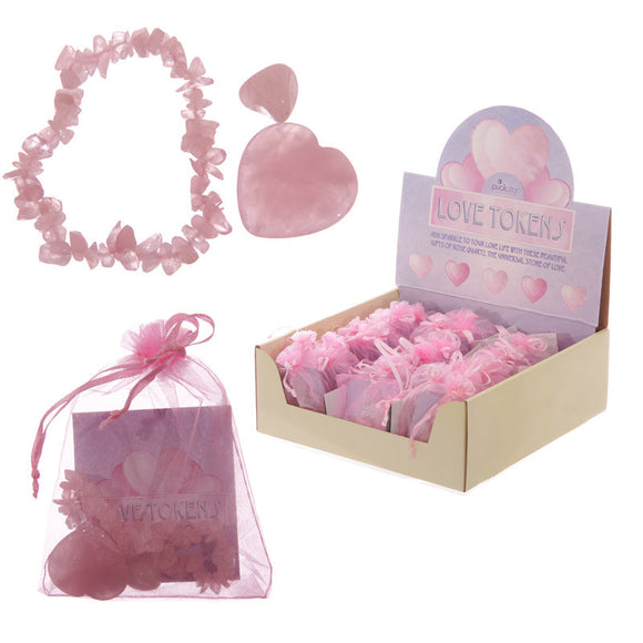Egg n Chips London - Lovers Rose Quartz Gift Set - Egg n Chips London