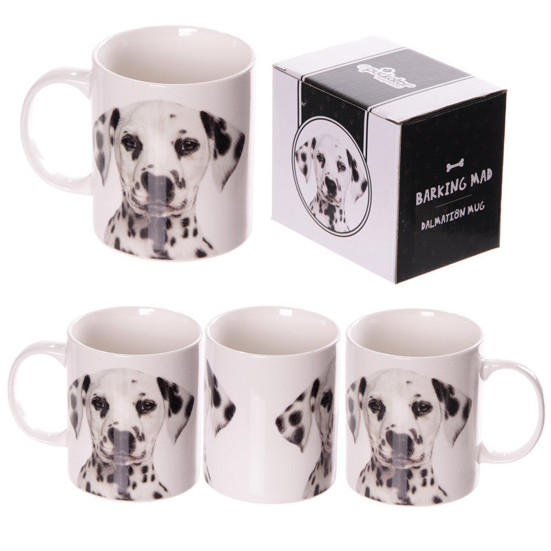 Egg n Chips London - New Bone China Cute Dalmatian Design Mug - Egg n Chips London