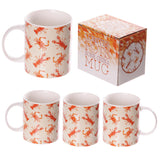 Egg n Chips London - New Bone China Seaside Crab and Lobster Design Mug - Egg n Chips London