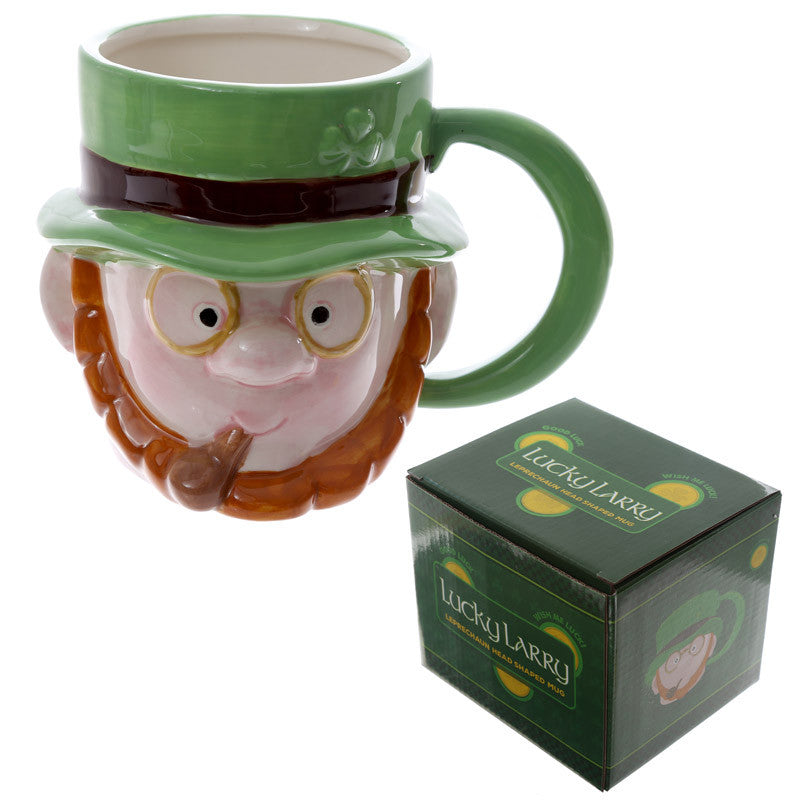 Egg n Chips London - Novelty Ceramic Leprechaun Head Mug - Egg n Chips London