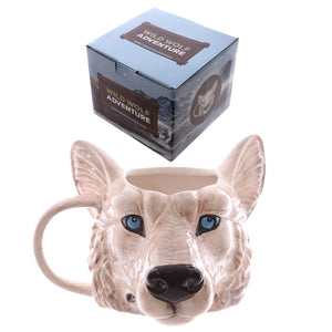 Egg n Chips London - Novelty Wolf Head Shaped Mug - Egg n Chips London