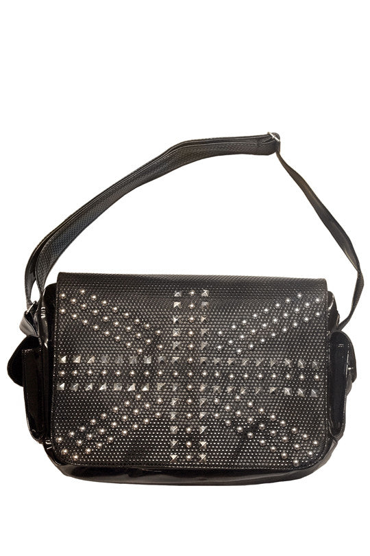 Jawbreaker Clothing - Perforated Nation Handbag - Egg n Chips London