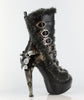 Hades Shoes - Polaro Steampunk Buckle Up Booties