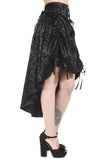 Banned Clothing - Black Long Gothic Skirt - Egg n Chips London