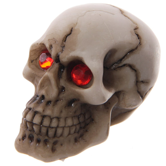 Egg n Chips London - Novelty Red Eyed Skull Decoration - Egg n Chips London