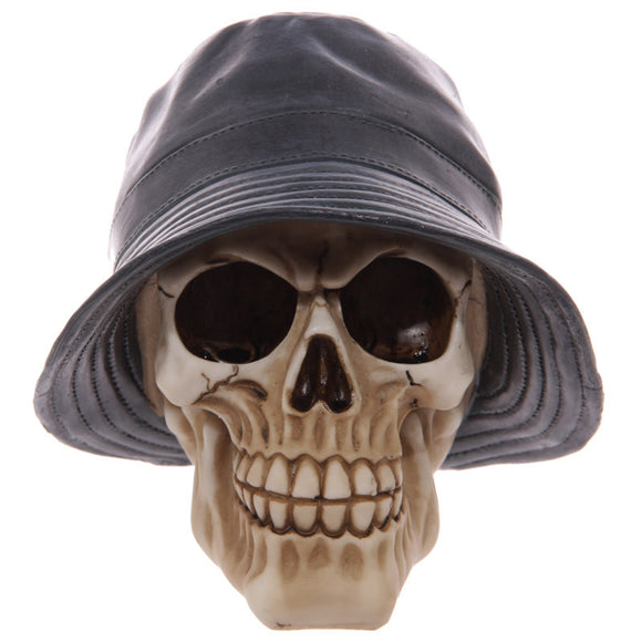 Egg n Chips London - Gruesome Skull Rain Hat Ornament - Egg n Chips London