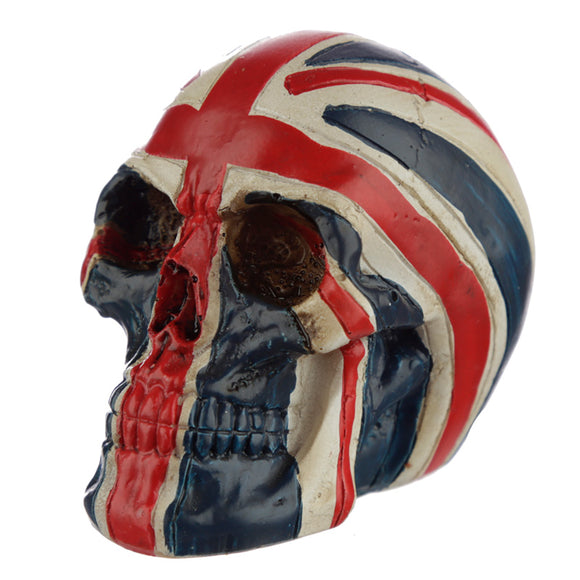 Skull Union Jack Flag Head Ornament SK308
