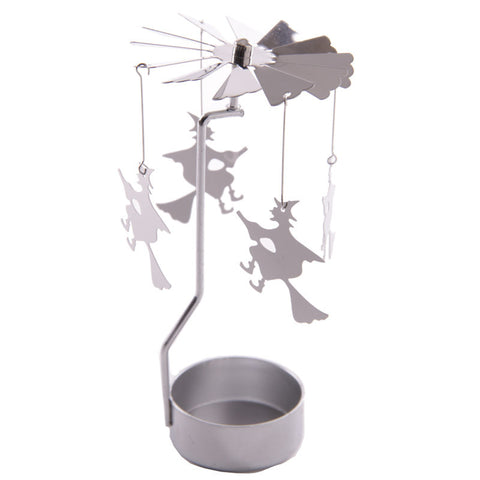 Egg n Chips London - Fantasy Witch Design Metal Tealight Spinner