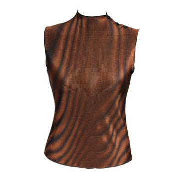 Dead Threads - Women's Brown Sleeveless Top