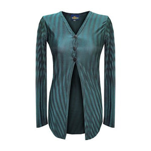 Dead Threads - Women's Blue Long Sleeve Top
