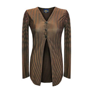 Dead Threads - Women's Brown Long Sleeve Top