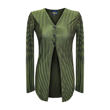 Dead Threads - Women's Green Long Sleeve Top