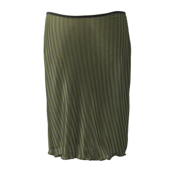 Dead Threads - Women's Green Knee Length Mini Skirt