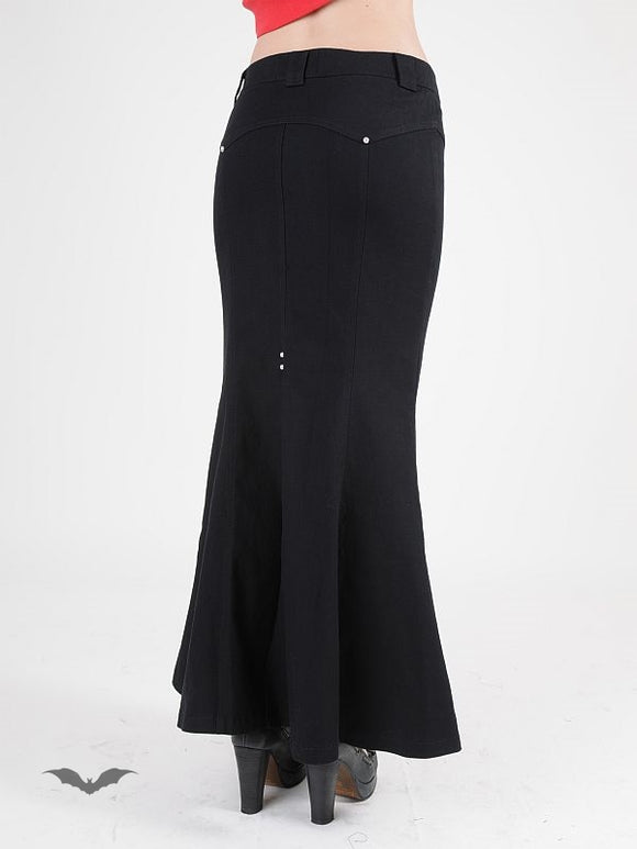 Queen of Darkness - Simple long skirt