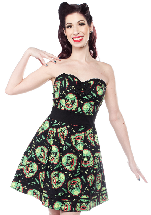 Sourpuss - Rockabilly Creature Party Dress