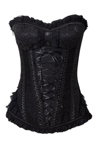 Jawbreaker Clothing - Stunning Lace Corset - Egg n Chips London