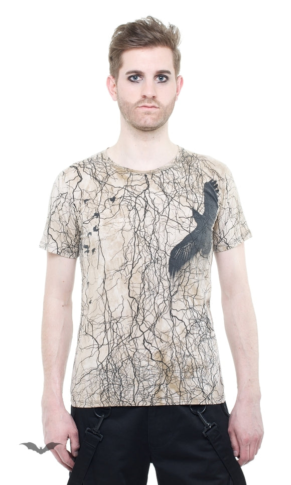 Queen of Darkness - T-Shirt Storm Line brown
