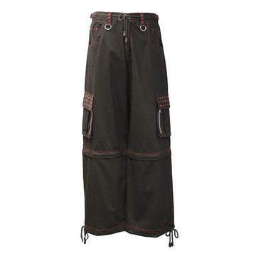 Dead Threads - Men's Wide Leg Eight Pockets Baggy Style Trouser