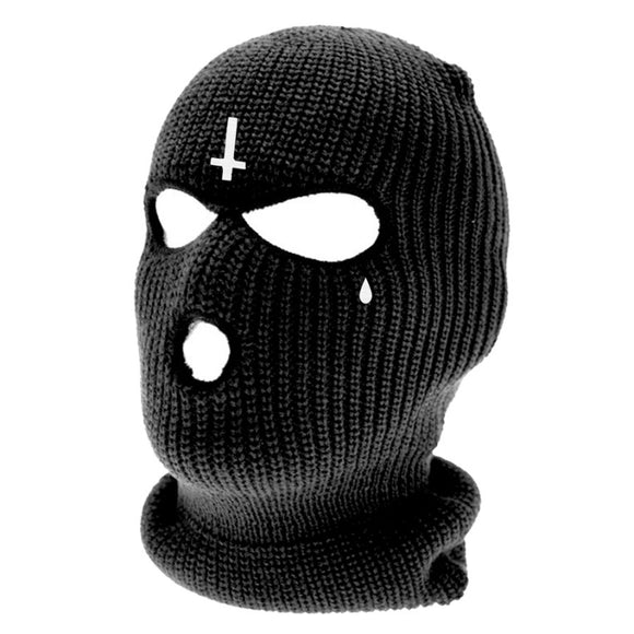 Toxico Clothing - Inverted Cross Balaclava