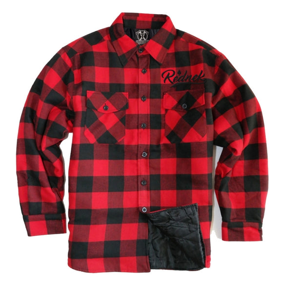 Toxico Clothing - Lumberjack Flannel Jacket (Red/Black)