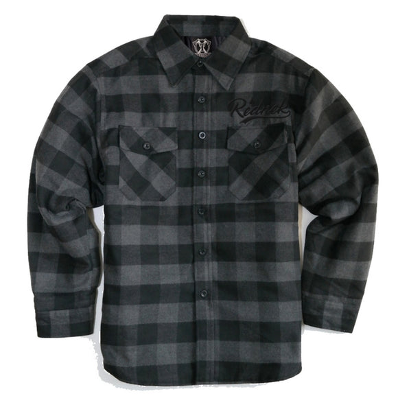 Toxico Clothing - Lumberjack Flannel Jacket (C.Coal/Black)