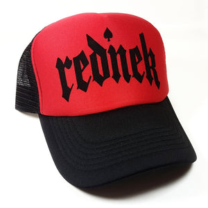 Toxico Clothing - Rednek Gothic Trucker Hat