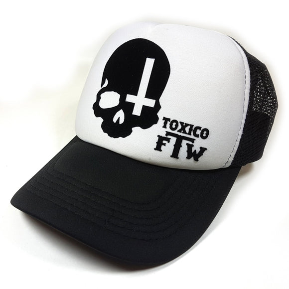 Toxico Clothing - Skull Cross Trucker Hat