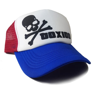 Toxico Clothing - Skull & Bones 3D Trucker Hat