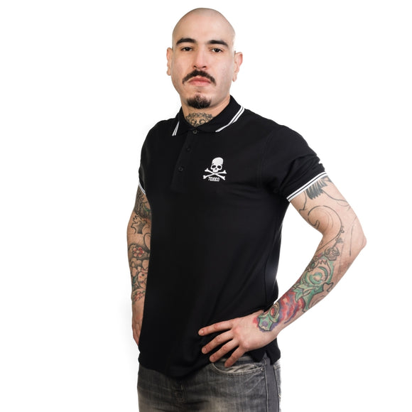 Toxico Clothing - Skull & Bones Polo Shirt