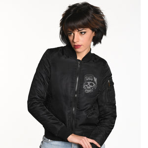 Toxico Clothing - Suicidal Flight Jacket (Black)