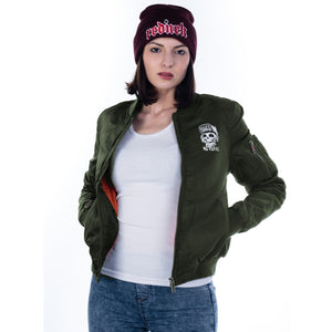 Toxico Clothing - Suicidal Flight Jacket (Military)