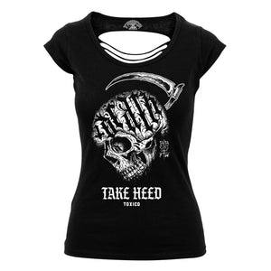 Toxico Clothing - Take Heed Cut-Back Tee