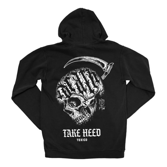 Toxico Clothing - Take Heed Ziphood