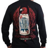 Toxico Clothing - Whitetrash Beer Longsleeve Tee