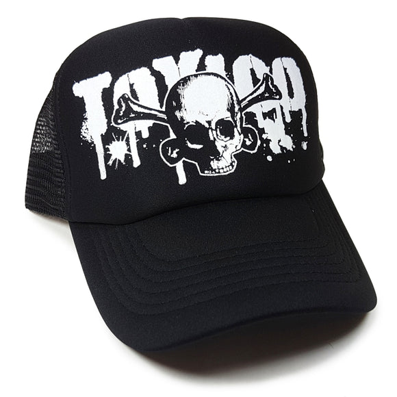 Toxico Clothing - Splatter Skull Trucker Hat