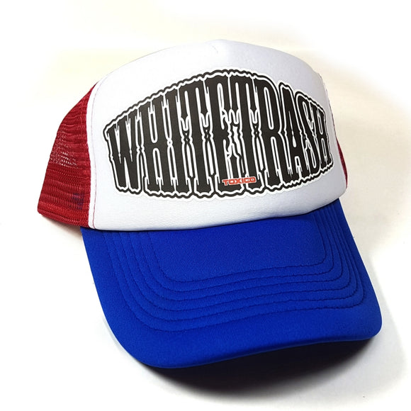 Toxico Clothing - Whitetrash Trucker Hat