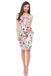 Voodoo Vixen - Vera Real Summer Stunner Dress - Egg n Chips London