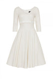 Voodoo Vixen - Dorothy Bridal Plus Size Dress - Egg n Chips London