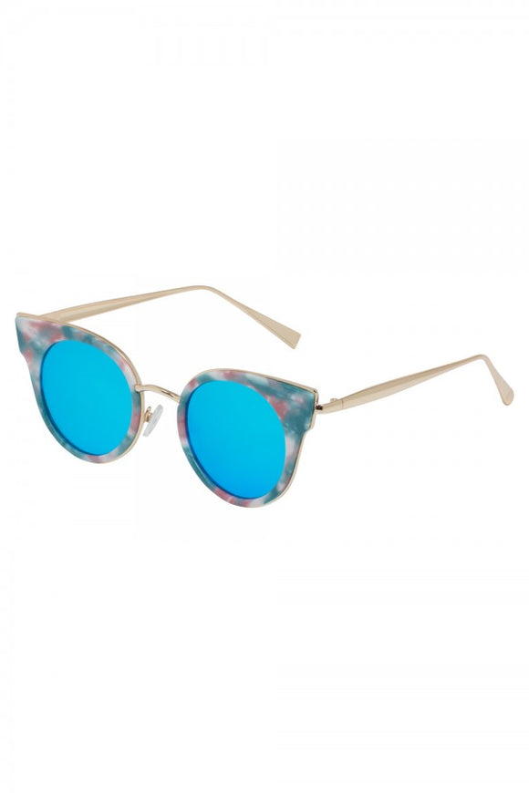 Voodoo Vixen - Retro Round Multi Sunglasses - Egg n Chips London