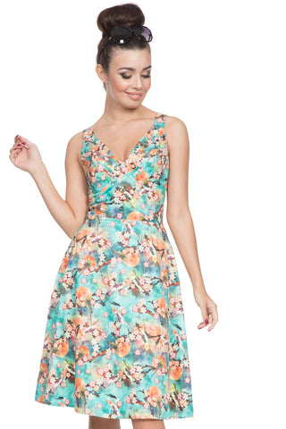 Voodoo Vixen - Women's Lizabeth Swing Summer Dress