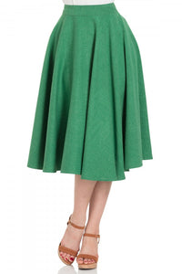 Voodoo Vixen - Sandy Green Full Circle Skirt