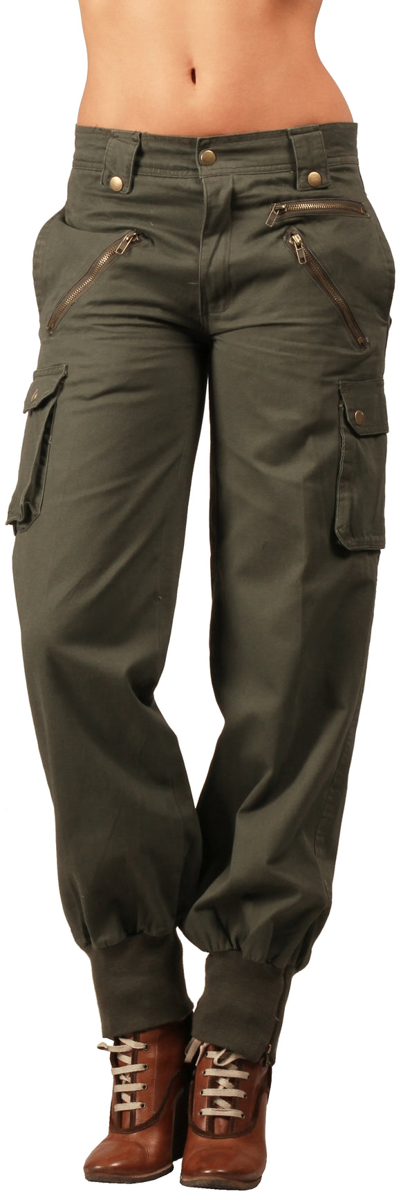 Dead Threads - Women's Khaki Five Pocket Pants