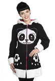 Banned Clothing - Panda Face Coat - Egg n Chips London