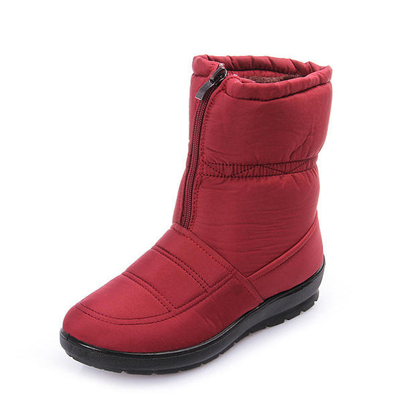 Winter Keep Warm Snow Waterproof Cotton Boots