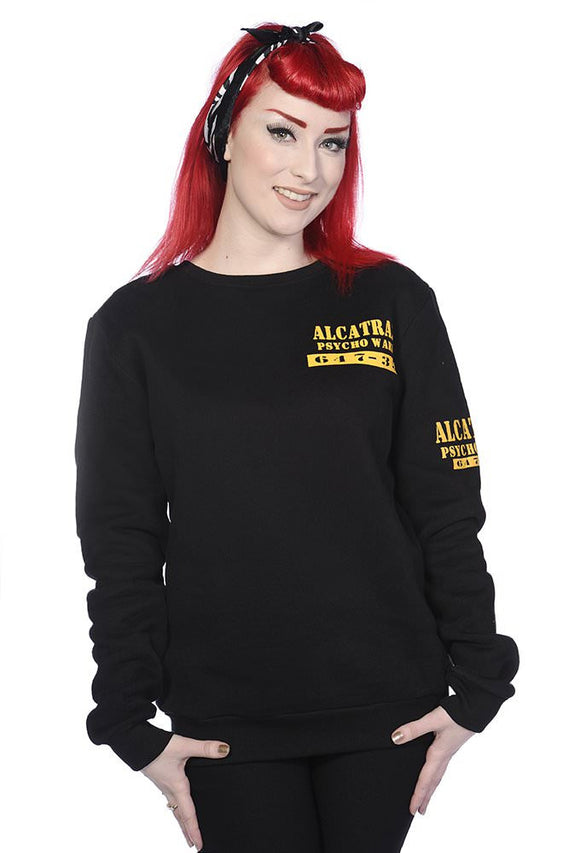 Banned Apparel - Alcatraz Women Sweatshirt - Egg n Chips London