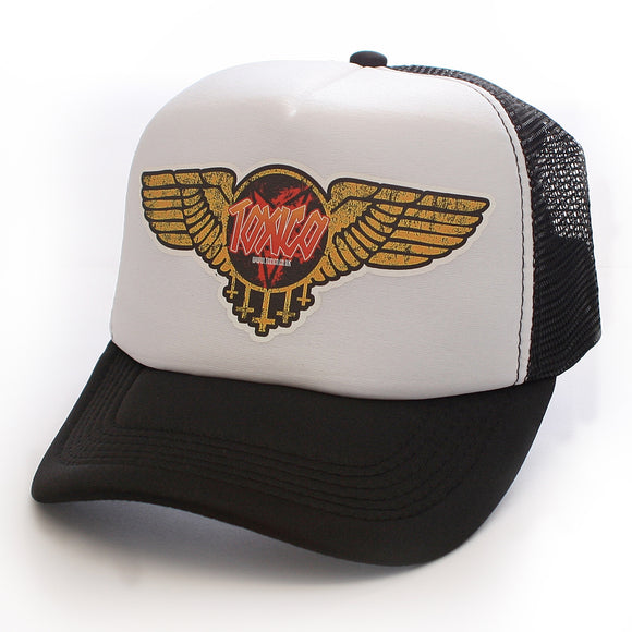Toxico Clothing - Unisex Angel of Death Trucker Hat - Egg n Chips London