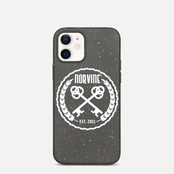 Biodegradable Norvine Crossed Keys phone case for iPhone (7-12)