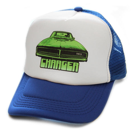 Toxico Clothing - Unisex Blue Charger Trucker Hat