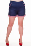 Banned Apparel - Blueberry Hills Shorts - Egg n Chips London